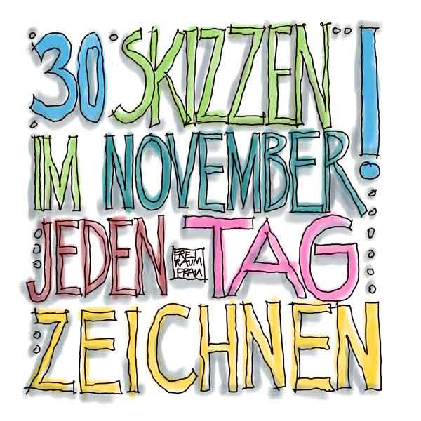 #30skizzen-im-November