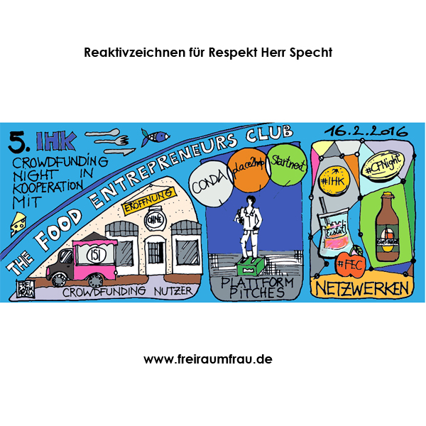 Illustration für Crowdfunding Night