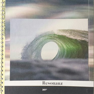 Welle und Text Resonanz 361°