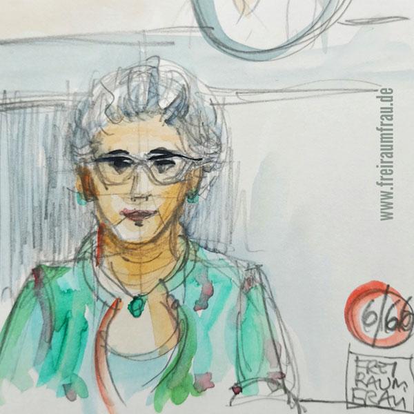Portrait meiner Mama