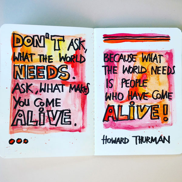 Spruch Howard Thurman