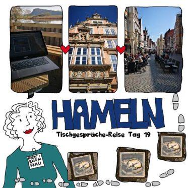 Zeichnung-Freiraumfrau-Hameln-mit-Fotos