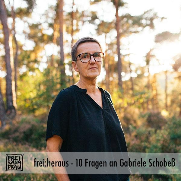 Portraetfoto Gabriele Schobess